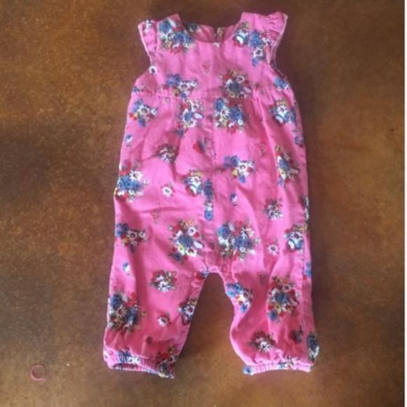 da686ebcbf Baby Mini Boden Pink Floral Corduroy Romper. M 5abe617d3a112e220003a537